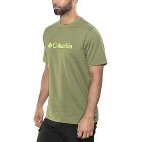 Columbia CSC Basic Logo - Camiseta manga corta Hombre - Oliva